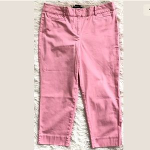 """Talbots Pink """"The Perfect Crop"""" Pants"""